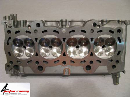 4 Piston Racing:: Ported Cylinder Heads